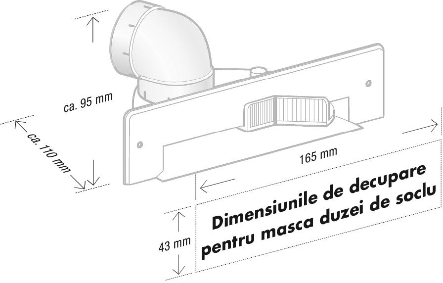 masca duzei de soclu_dimensiuni_decupare