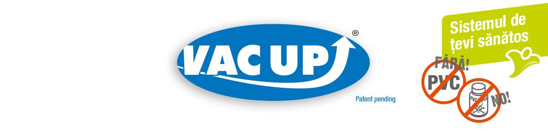 Sistem tevi albastre VAC UP fara PVC, fara lipire
